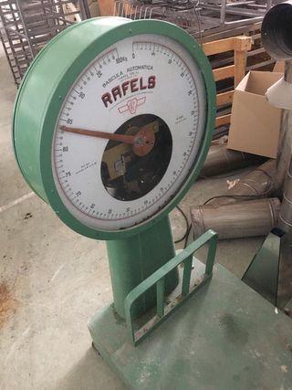 Báscula automática antigua Rafels