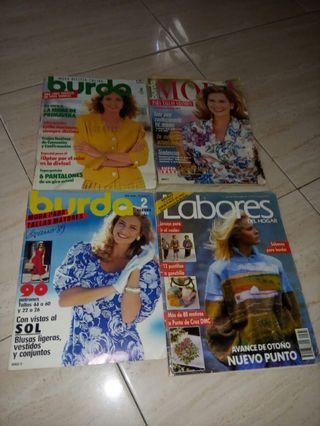 revistas de moda años 1989/90