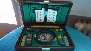 Juego ruleta en maletin