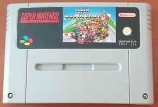 Juego Super Nintendo Super Mario Kart