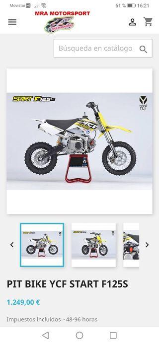 pit bike ycf 125cc