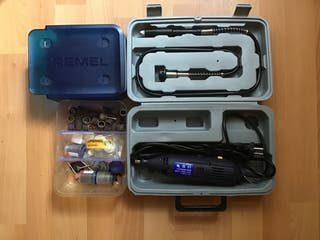Dremmel + eje flexible + accesorios