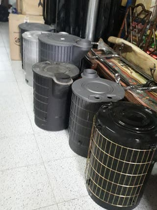 lote de estufas de leña Nuevas