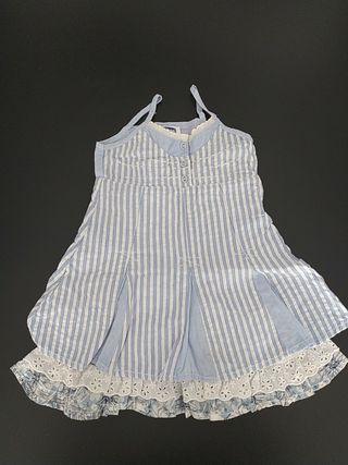 vestido Chicco talla 80. 15 meses