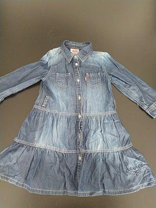 vestido Levis talla 24 meses