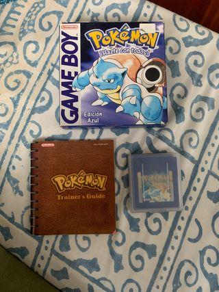 Pokemón Edición Azul