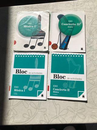 libros de música de la ESO