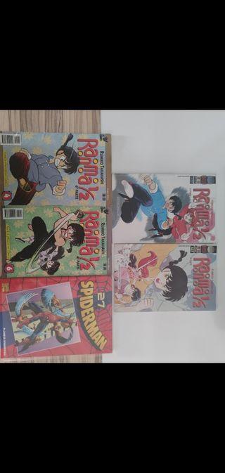 pack comics ranma y Spider-Man