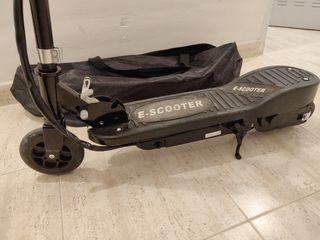 Patinete eléctrico e-scooter como nuevo