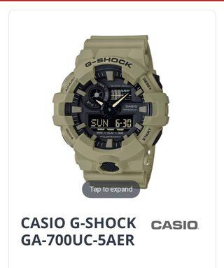 Casio G-Shock 700
