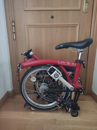 Bicicleta Brompton impecable