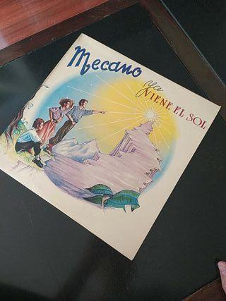 vinilo Mecano ya viene el sol