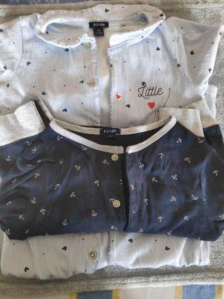 lote 2 pijamas 18 meses