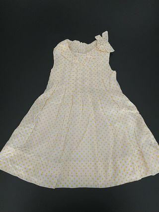 vestido Chicco talla 86. 18 meses