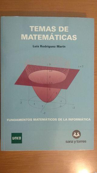 Libro Matemáticas UNED