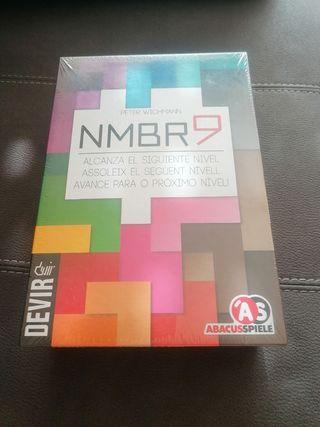 juego de mesa Nmbr9