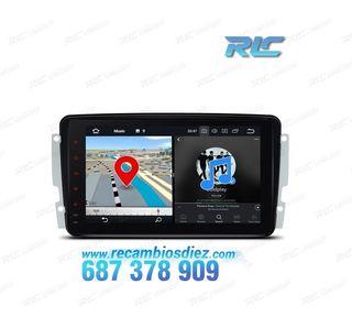 RADIO GPS MERCEDES BENZ C E G VITO VIANO ANDROID 8