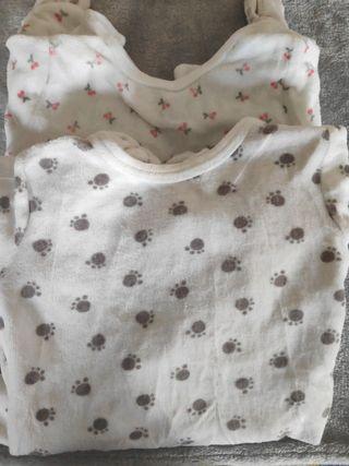 lote 2 pijamas 12 meses