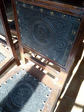 cadires antigues per restaurar. Sillas antiguas