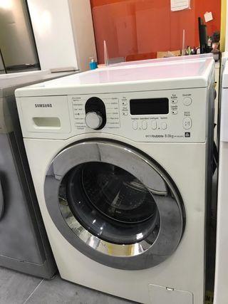 lavadora Samsung 8 kilos