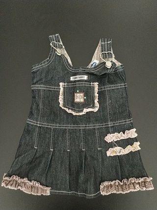 vestido Chicco talla 74. 12 meses