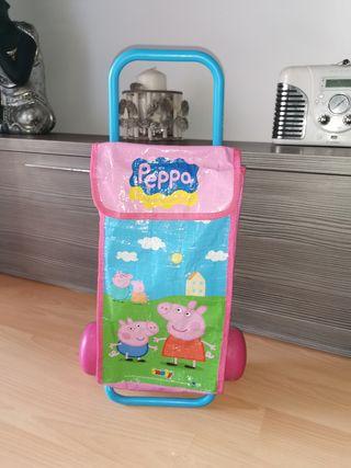 Carrito Peppa Pig