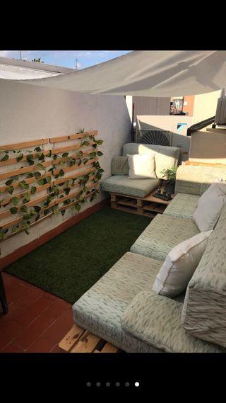 Vendo conjunto de sofas palets