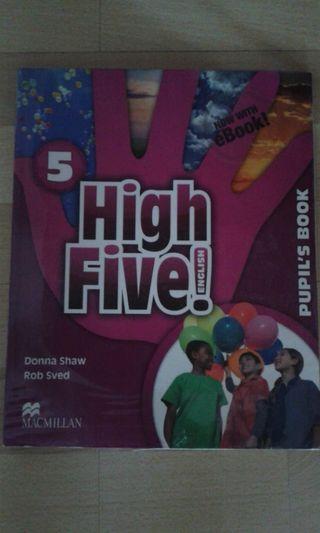 Libro inglés 5 primaria