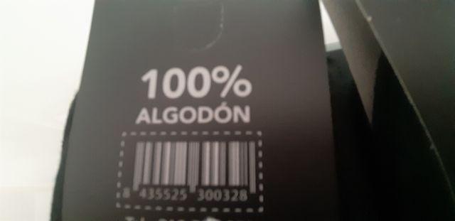 calcetines 100% algodón 12 × 20