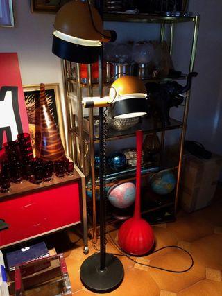 Lampara vintage MADOM diseño 1970 space age
