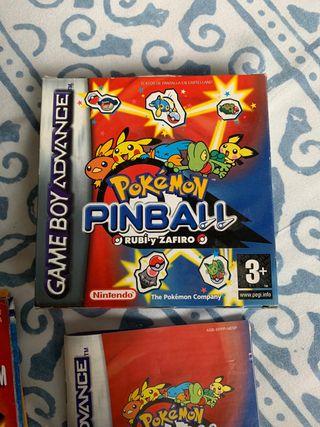 Pokemon Pinball GameBoy