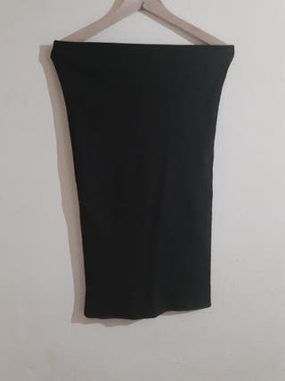 Falda elástica midi Stradivarius talla M/L