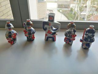 Figuras de porcelana Sargadelos
