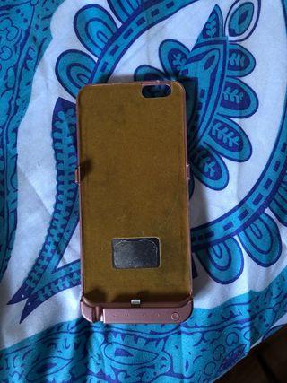 Funda cargador iphone 6 plus