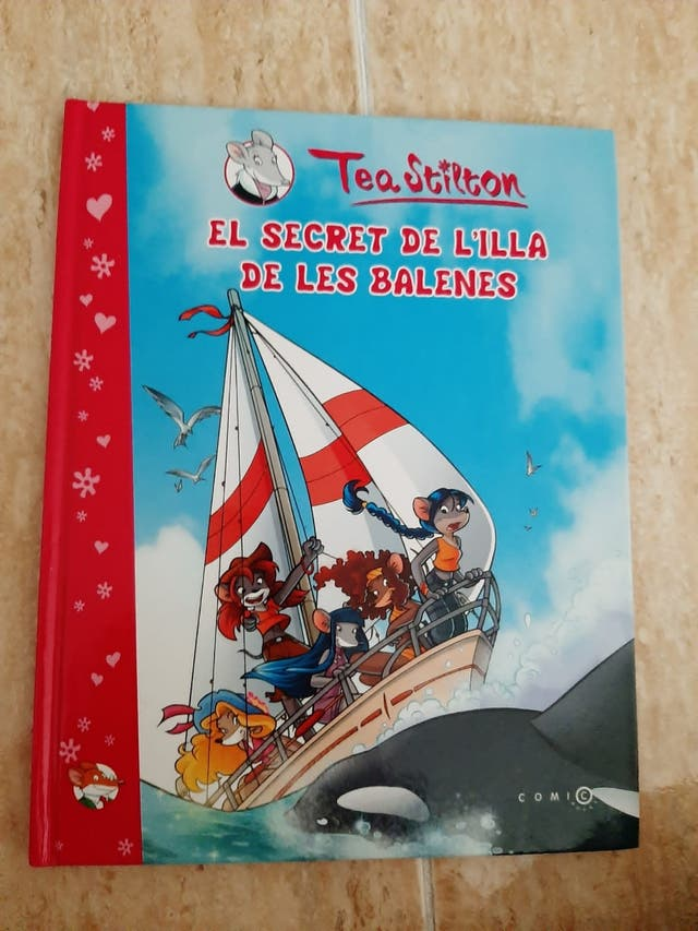 Cómics de Tea Stilton en catalan