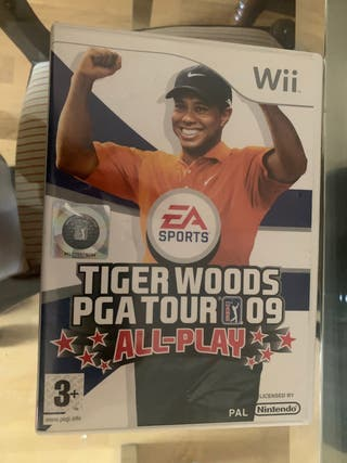 Juego Wii tiger Woods