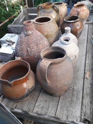lote de antigua ceramica