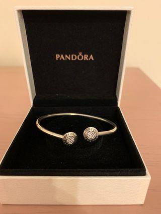Pulsera Pandora plata
