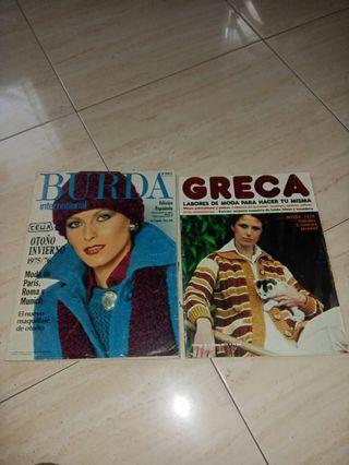 revistas de moda años 70
