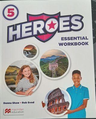 libro inglés 5° primaria heroes 5
