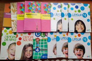 libros texto 4 primaria
