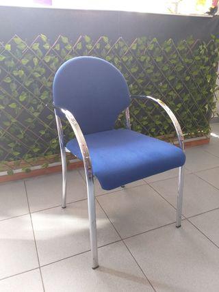 silla de oficina mostrador de tela