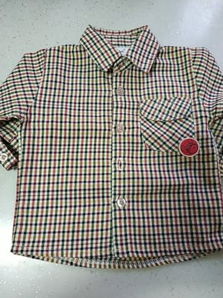 Camisa niño 6-9 meses Neck & Neck