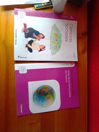 Libros de texto de 4 primaría,