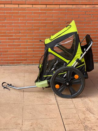 Remolque de bicicleta tipo carro B-Travel Bellelli