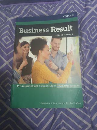 Libro de inglés Grado superior
