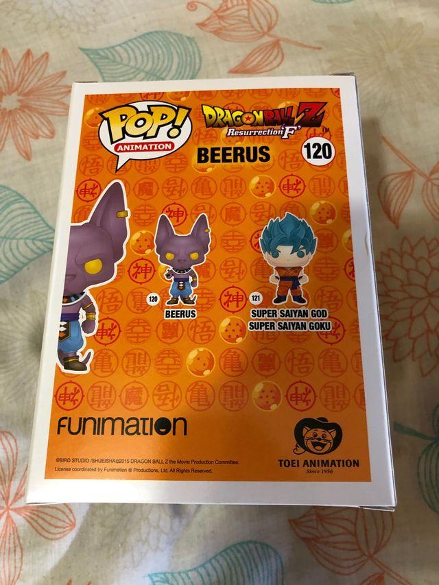 Funko Pop Dragon Ball Beerus y Beerus SDCC 2016