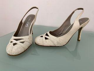 Zapato novia encaje Rosa Clara 40 y 38 nuevo