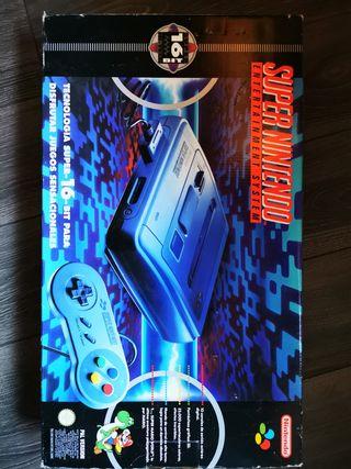 Super Nintendo en caja original