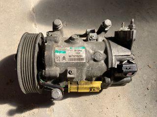 Compresor aire acondicion. Peugeot ref. 9671216280